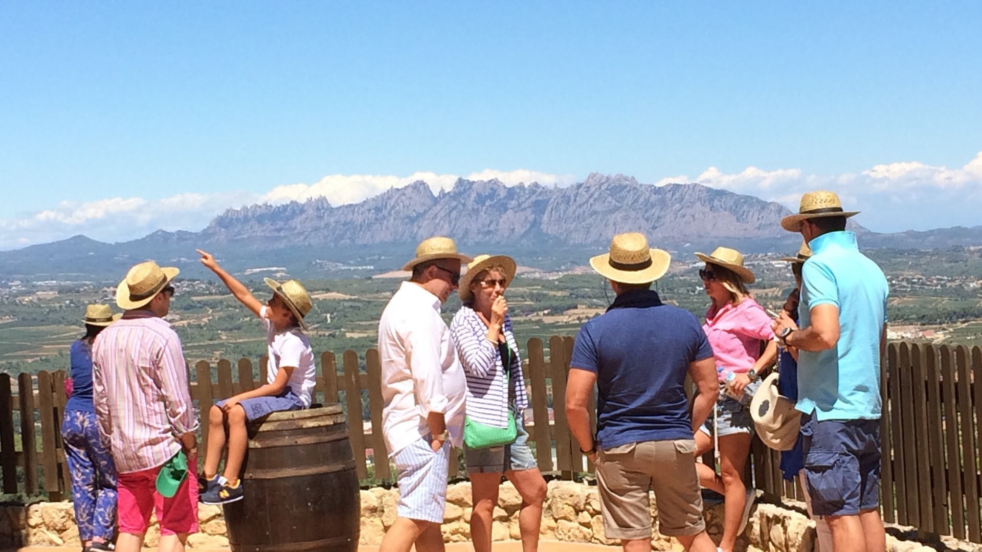 Montserrat Tour with Monastery visit and Wine Tasting in Penedés Small Group Day Tour - In out Barcelona Tours