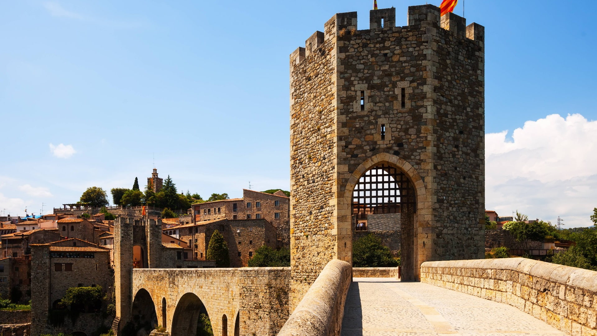 Besalú Vic and Medieval Towns Small Group Full Day Tour from Barcelona - In out Barcelona Tours